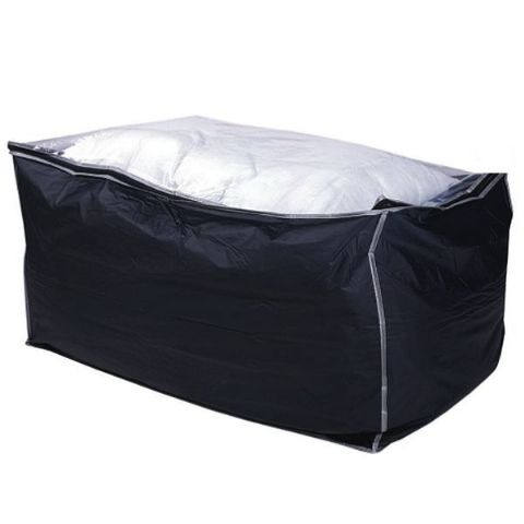 TuffStor Giant Breathable Duvet Storage Bag - Navy with Clear Top .  sc 1 st  Scatty Squirrel & Extra large clear polythene plastic storage bags with zip